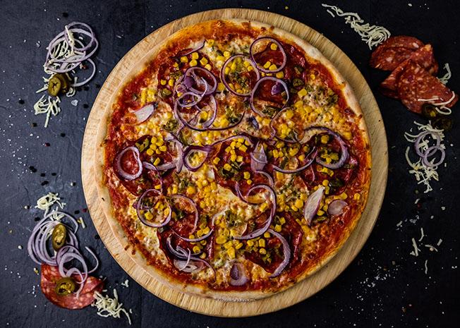 Umami pizza