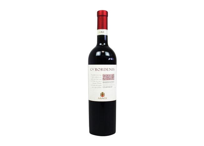 Víno červené Santi Bardolino Classico 0,75L