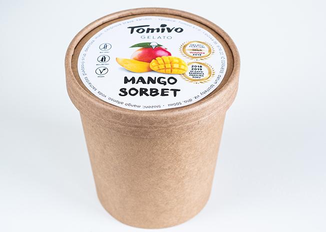 Tomivo Gelato - Mango sorbet 500 ml