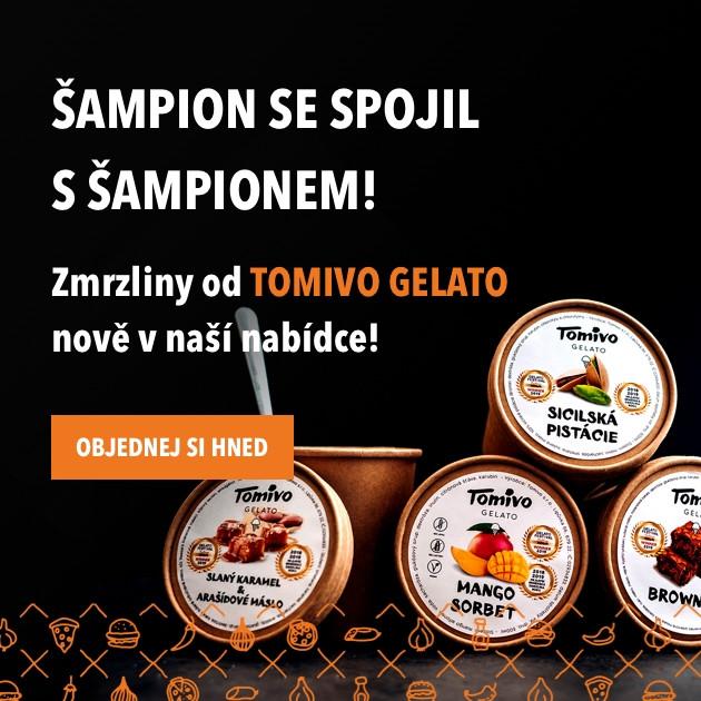 Zmrzliny od Tomivo Gelato