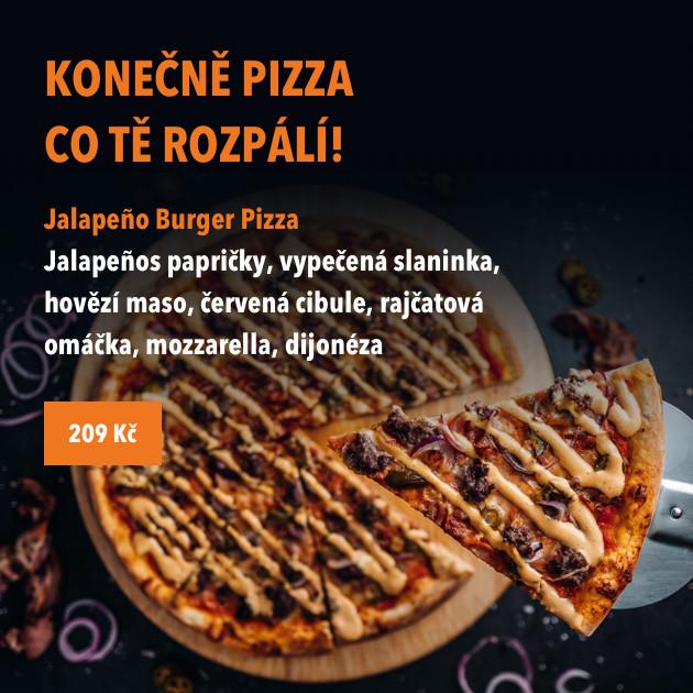 Konečně pizza co Tě rozpálí!