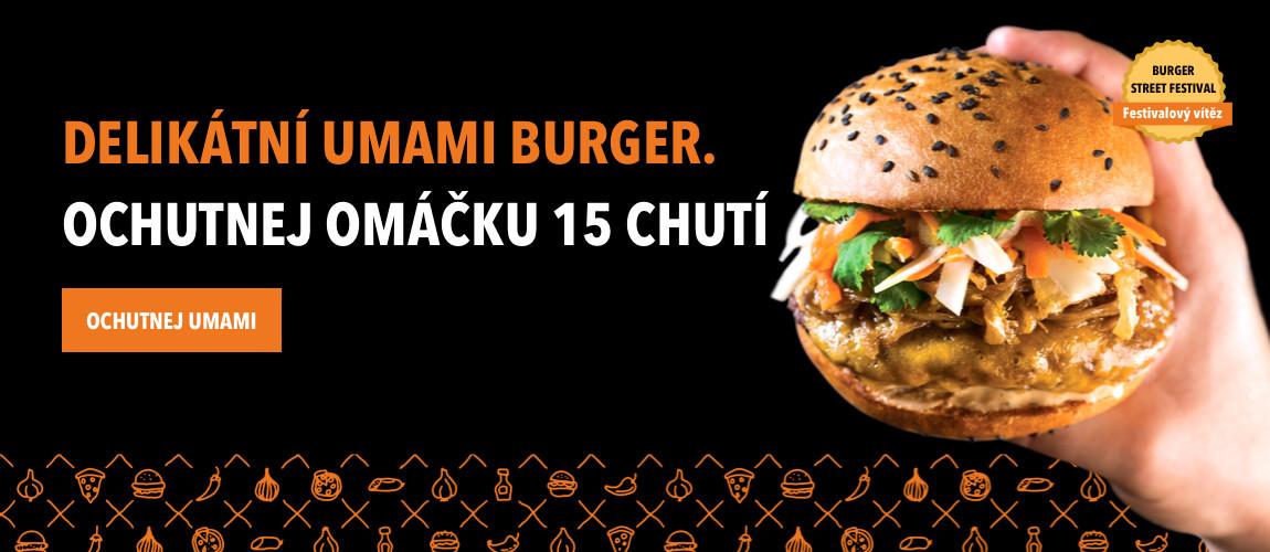 Delikátní Umami Burger